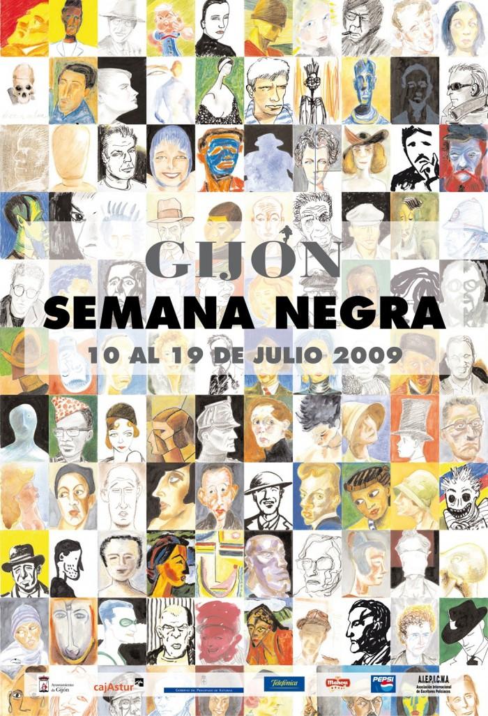 22 Semana Negra de Gijón, Asturias 2009