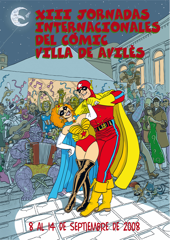 13 Jornadas de comic de Avilés, Asturias 2008