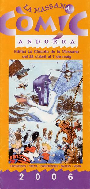 La Massana còmic, Andorra, 2006