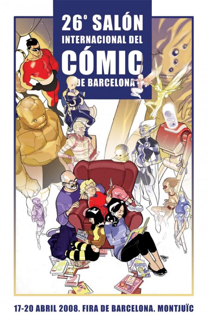 26º Salón internacional del comic de Barcelona, 2008