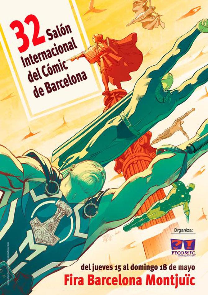 Salón del comic de Barcelona 2014