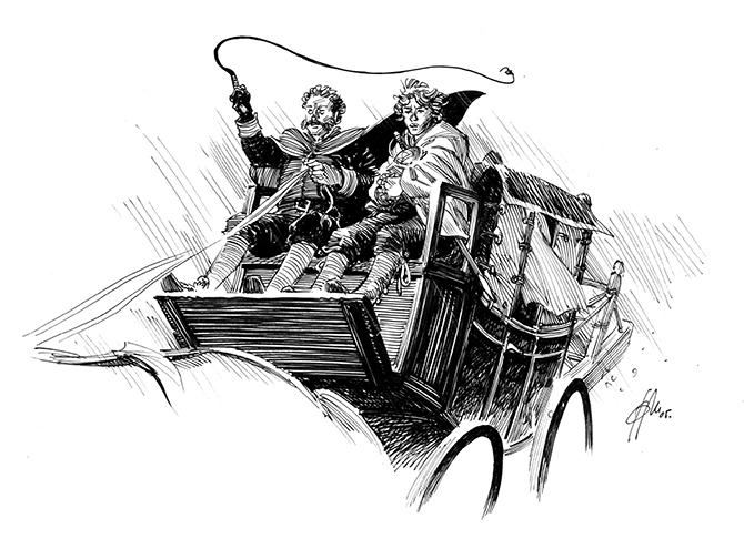 El caballero del jubón amarillo cab XIART