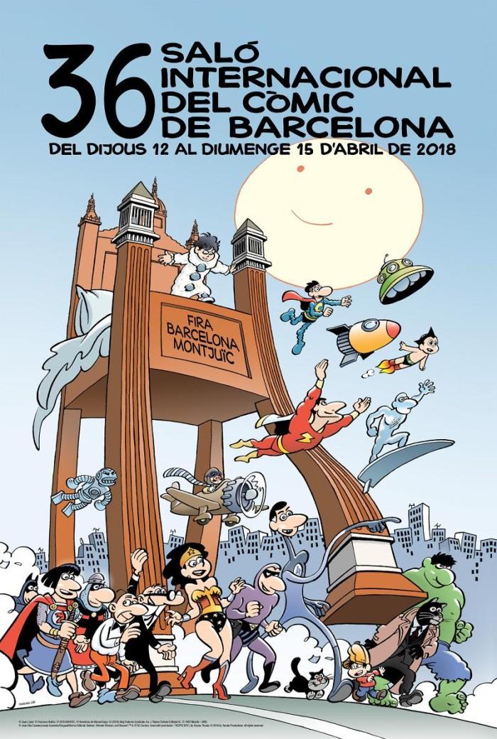 36 Salón del comic de Barcelona