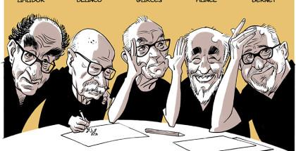 Caricaturas Mercat S ANTONI 2018 ARTa