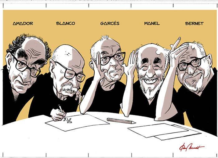 Cinco maestros