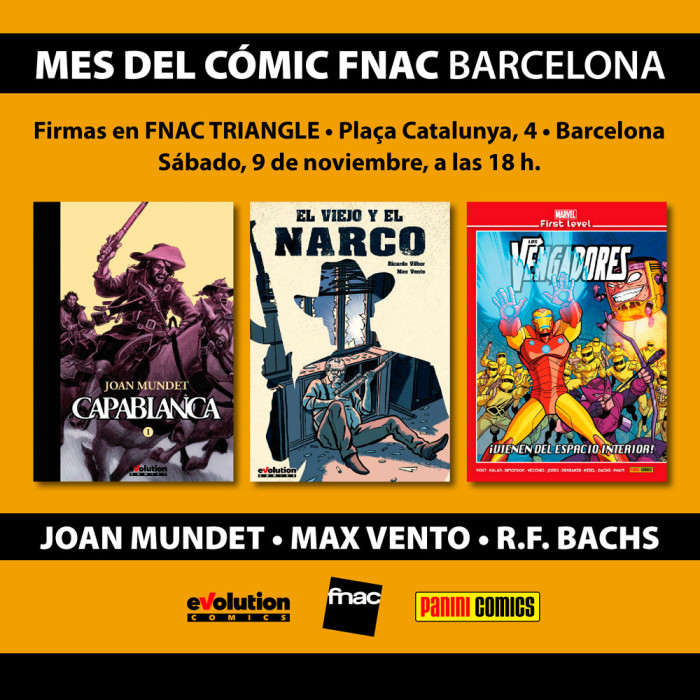 Capablanca en FNAC Barcelona.
